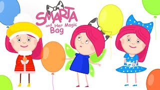 Funny Cartoon for Girls: Smarta and her Magic Bag New Cartoons Full Episodes