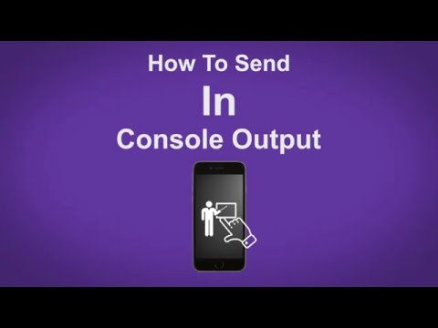 How To Send In Console Output In Twitch - Twitch Tip #25