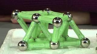 Магнитный конструктор Bornimago ML-60Y(Подписывайтесь на нашу группу Вконтакте — http://vk.com/chipidip, и Facebook — https://www.facebook.com/chipidip * Магнитный конструк..., 2012-02-24T00:39:15.000Z)