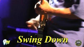 Swing down