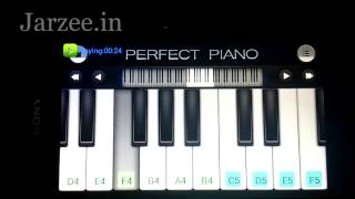 "Tum Hi Ho ""Aashiqui 2"" Song Easy Mobile Perfect piano tutorial"