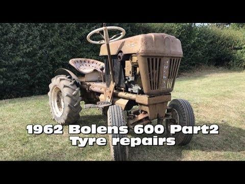 1962 Bolens 600 – Part2 (Tyre repairs)
