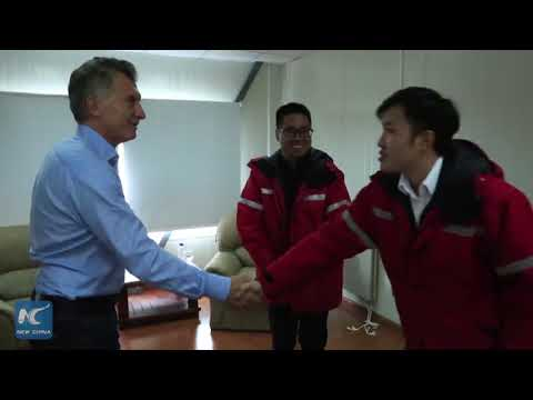 Macri highlights hydroelectric dam construction in cooperation with China