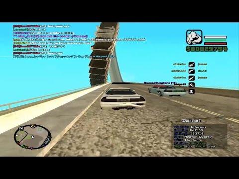 Reto :La carrera de los espirales en Gta San Andreas Multiplayer+links del juego y el samp thumbnail