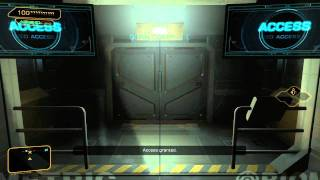 Singlesegment no deathghost casual speed run of the Deus Ex DLC on Give Me Deus Ex difficulty setting