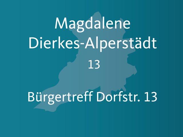Magdalene Dierkes Alperstädt