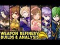 Sonya, Klein, Sophia, Delthea, Linde & Merric Builds & Weapon Refine Review - FEH
