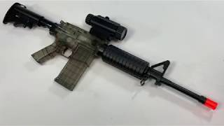 M4 BOYS ELECTRIC AIRSOFT BB REIFLE