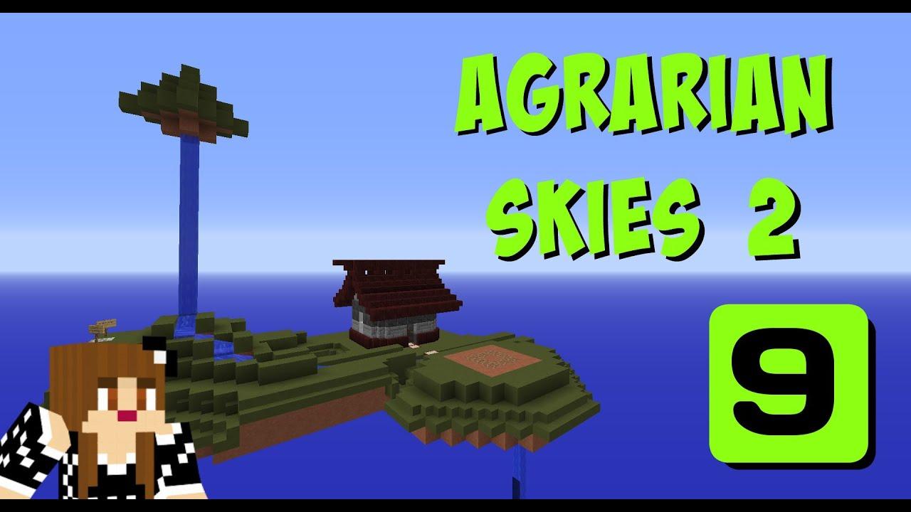 Ore processing agrarian skies