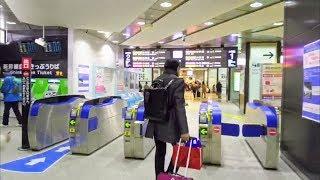 新神戸駅から神戸市営地下鉄西神・山手線を経て海岸線へ