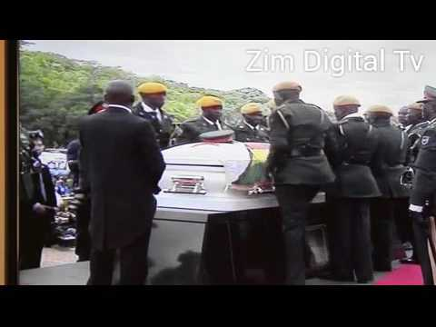 WATCH how ZNA bury and salute National Heroes at the shrine
