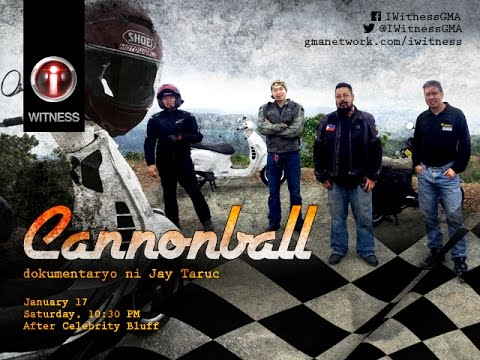 "I-Witness: ""Cannonball"", documentary by Jay Taruc (full episode)"