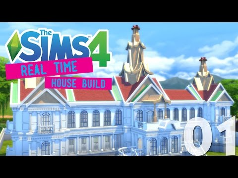 The Sims 4 House Building: Thailand Royal Palace - Part 1 - (Real Time)
