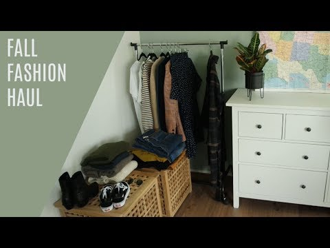 FALL FASHION HAUL // H&M, Zara, Monki, Madewell, Everlane, Urban Outfitters
