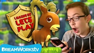 Mountain Goat Mountain EPIC High Score with FinsGames | LEAGUE OF LET'S PLAY