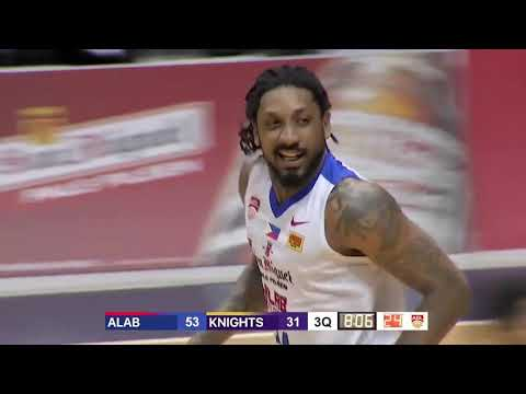 San Miguel Alab Pilipinas v CLS Knights| CONDENSED HIGHLIGHTS | 2018-2019 ASEAN Basketball League