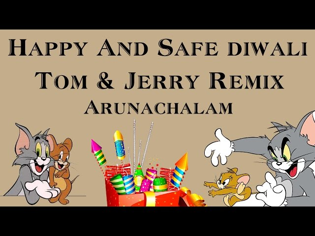 [Tom & Jerry remix] Donts on Diwali Funny video!! Must watch