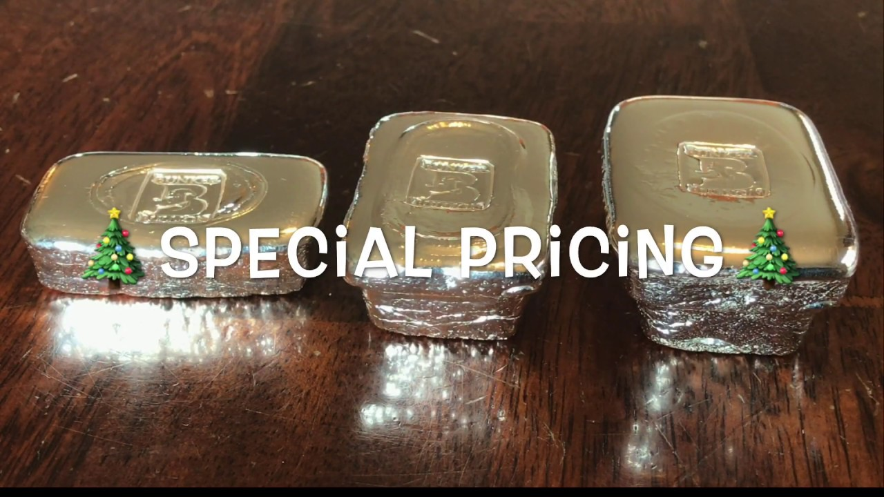 🎄SPECIAL PRICING🎄 3 Old Style Bars (Cast Iron Mold)