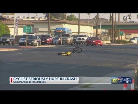 Man on bicycle suffers major injuries in collision with a vehicle on Union Avenue thumbnail