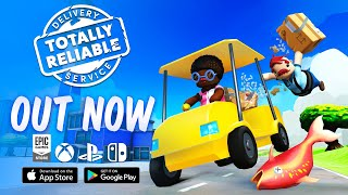 Totally Reliable Delivery Service - Launch Trailer (Xbox, PC, PS4, Switch, iOS, Android)