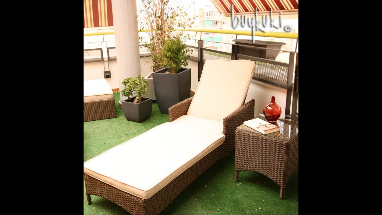 Muebles jard n rattan buykuki youtube for Muebles jardin rattan