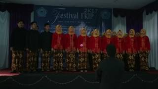 MARS UNSWAGATI - Paduan Suara SMKN 1 Kedawung Good Voice Of Golden Koor(Festival FKIP Unswa 2017)