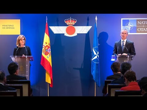 NATO Secretary General with the Minister of Defence of Spain, 25 JAN 2018, Part 1 of 2
