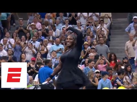 2018 US Open highlights: Serena Williams cruises into the second round | ESPN