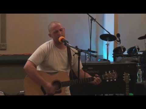 Jay Barker performs a composition of his own