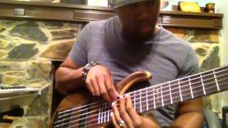 Bass looping - loop pedal - Jermaine Morgan