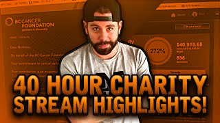 40 hour charity stream highlights 50 000 raised for cancer research fuckcancer