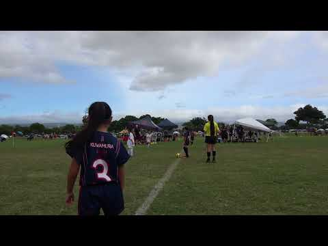 Whitfield SC Royal 10G vs FC Hawaii 10G BLUE Dec102017
