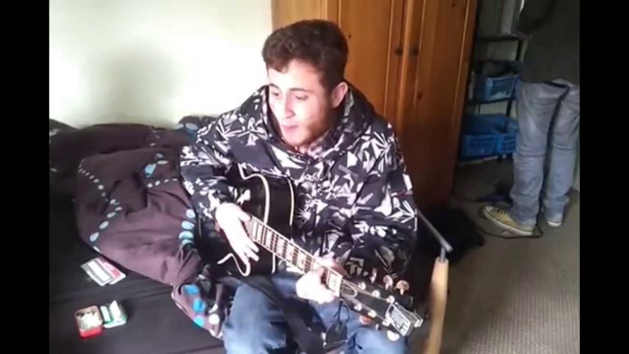 Nick Haley - Sex On Fire Cover Live @ My Old Flat in Nuneaton