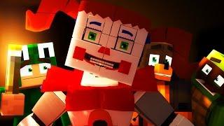 Minecraft School - SISTER LOCATION SECRET PORTAL