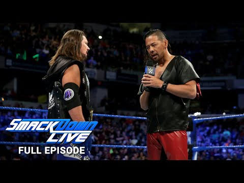WWE SmackDown LIVE Full Episode, 13 March 2018