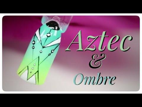 💅💅 Aztec Nails 💅💅 :: Atztec & Ombre :: Nailart by Natalia