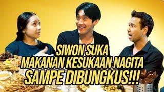 SIWON COBAIN PEYEK, MARTABAK, TAHU DI RUMAH RAFFI. SIWON BAIK BANGET!!!