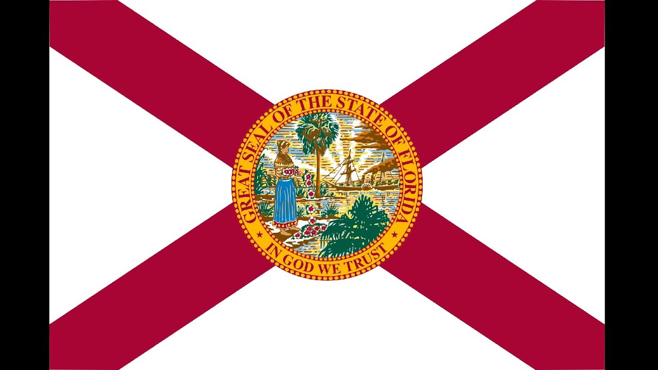 floridas flag and its story youtube