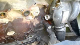 Daf 105 460 замена прокладок масло охладителя