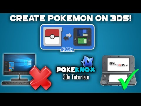 (11 10) PKSM NEW UPDATE! Pokegen + Pokebank on your 3ds! PkHex without a PC  3Ds Tutorial #01