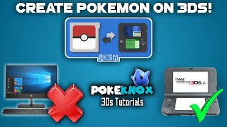 (11.12) PKSM NEW UPDATE! Pokegen + Pokebank on your 3ds!  PkHex without a PC 3Ds Tutorial #01