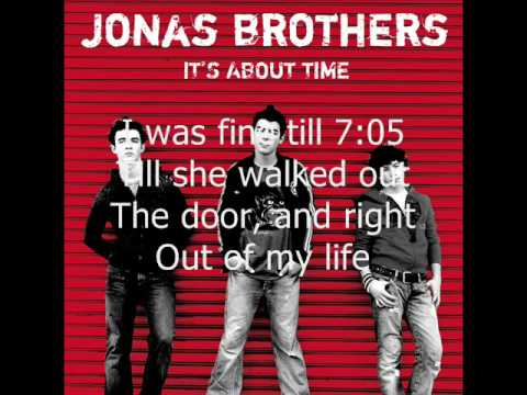 10. 7:05 (It's About Time) Jonas Brothers (HQ + LYRICS)