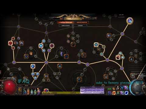 32 INFINITE MANA TINKERSKIN + ELDRITCH BATTERY COMBO: Lightning Trap Saboteur Build Guide  Demi