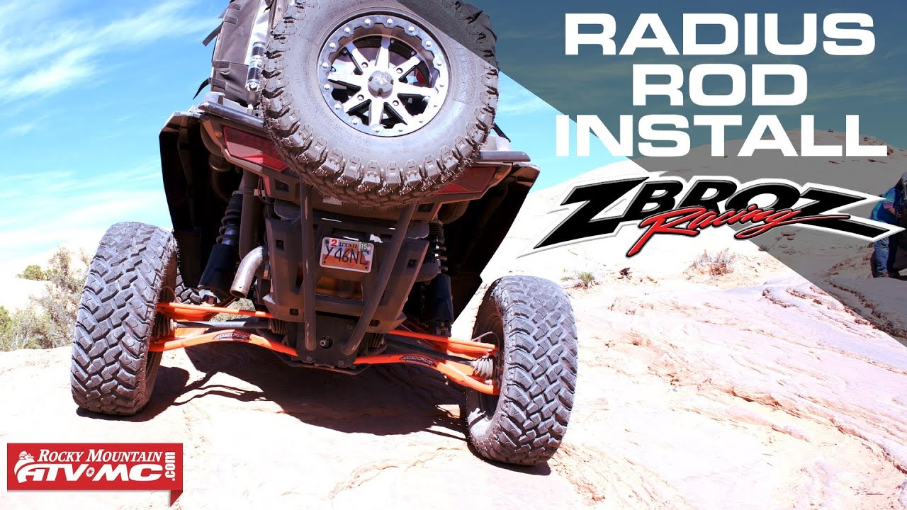 Zbroz Racing ARS FX Max Clearance Lower Radius Rod Kit | Parts