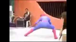 Человек паук жесткое падение Юмор! Прикол! Смех