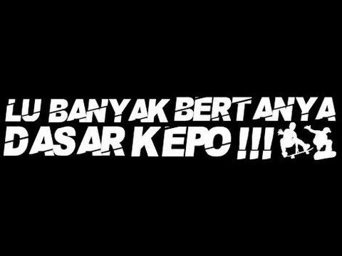 Ecko show -  Dasar kepo ( editing foto chris )