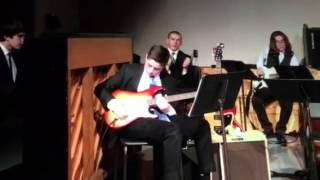 Dayne rips his solo at the Concord Jazz concert 2016!!!