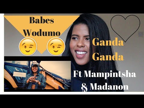 ♥️ Babes Wodumo - Ganda Ganda ft Mampintsha and Madanon | REACTION