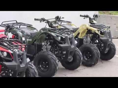Подростковые квадроциклы Yamaha Grizzly 450 и Honda TRX420 // Overview ATV Yamaha 450 and Honda 420