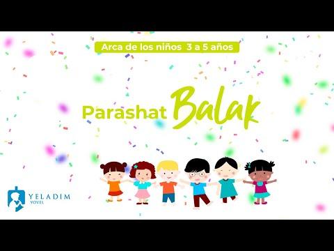 Parashat #Balak para Niños  - (3 a 5 años)